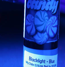 Black Light Blue - синий