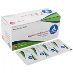 Мазь Bacitracin 144 пакетика