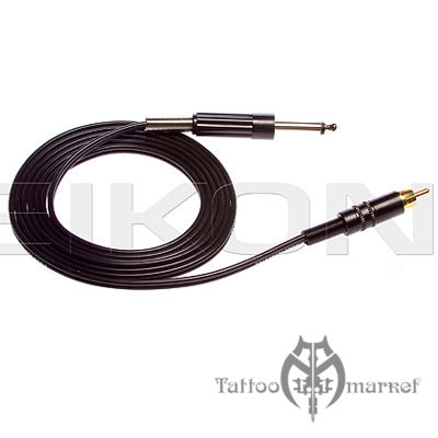 RCA Connector cord - 6 Foot - Black Wire