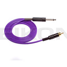 RCA Connector cord - 6 Foot - Purple Wire