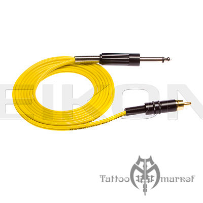 RCA Connector cord - 6 Foot - Yellow Wire