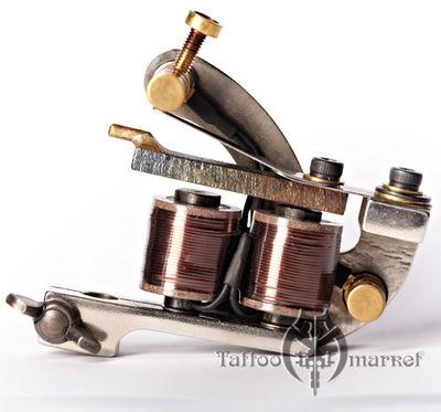 Тату машинка Zab Irons Dasator Project Nickel Shader 1