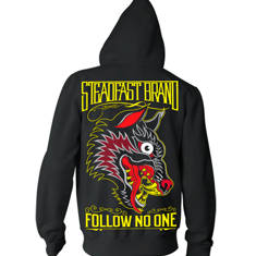 Follow No One Mens Hoodie