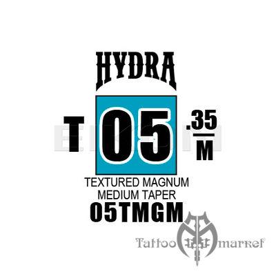 Hydra Textured Magnum Medium Taper 05