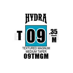 Hydra Textured Magnum Medium Taper 09
