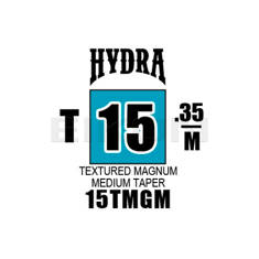 Hydra Textured Magnum Medium Taper 15