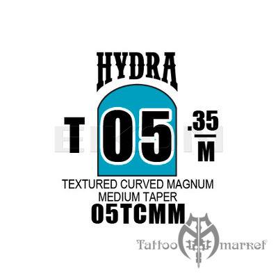 Hydra Textured Curved Magnum Medium Taper 05