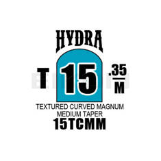 Hydra Textured Curved Magnum Medium Taper 15