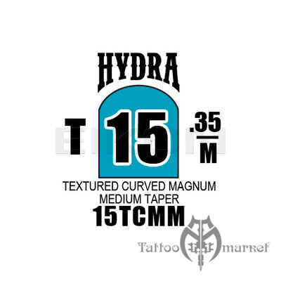 Hydra Textured Curved Magnum Medium Taper 15