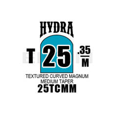 Hydra Textured Curved Magnum Medium Taper 25