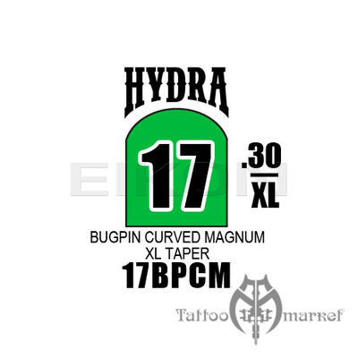 Hydra Bugpin Curved Magnum X Long Taper - 17