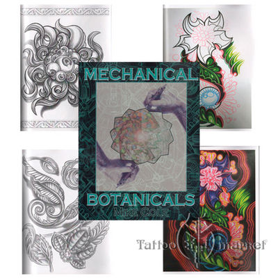 Книги, скетч-буки Mechanical Botanicals by Mike Cole