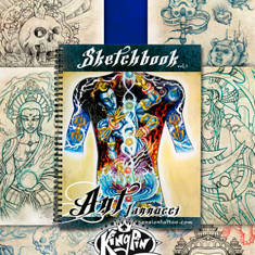 Ant Iannucci Sketchbook - Volume #1