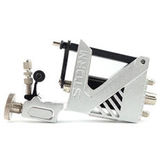 STORM V2 SILVER ROTARY TATTOO MACHINE