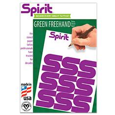 Бумага A4 зеленая для ручного перевода США