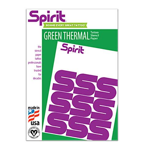 Трансферная бумага/принадлежности Бумага A4 зеленая машинная трансферная США