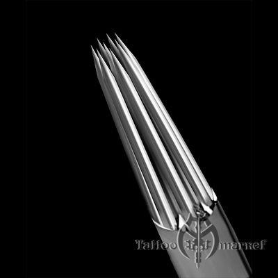 Иглы татуировочные KWADRON 0.40mm long taper 5RL