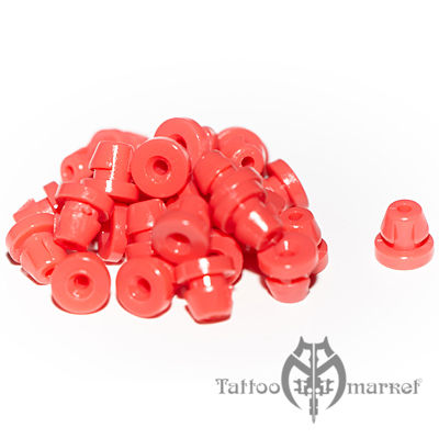 Резинки на штангу grommets, nipples Durable Nipples-Hard Red