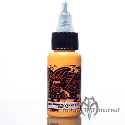 Краска World Famous Tattoo Ink Jason Ackerman - Ted Bundy Golden Bug