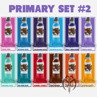 Color Primary Set #2 - 12шт