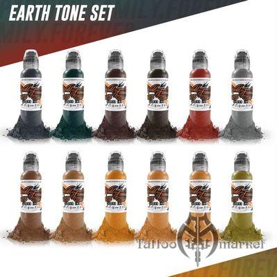 Earthtone 12 Color Set