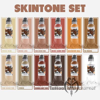 12 Color Skintone Set