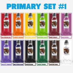 12 Color Primary Set #1