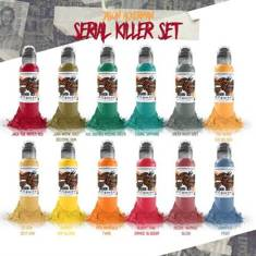 Jason Ackerman Serial Killer 12 Bottle Set