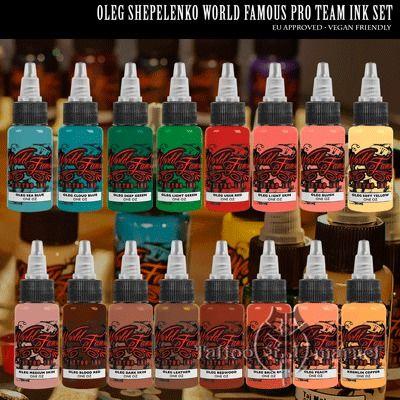 Oleg Shepelenko 16 Bottle Set