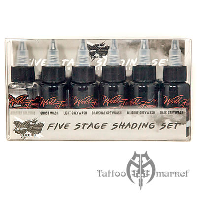 World Famous 5 Stage Shading Set