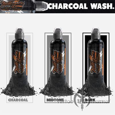 World Famous Charcoal Greywash Set 3