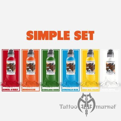 World Famous Simple Color Set - 6шт