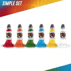 World Famous Simple Color Set - 6шт