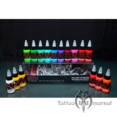 Master Mike Asian Tattoo Set 16