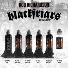 Rob Richardson Black Friar Greywash Set 6