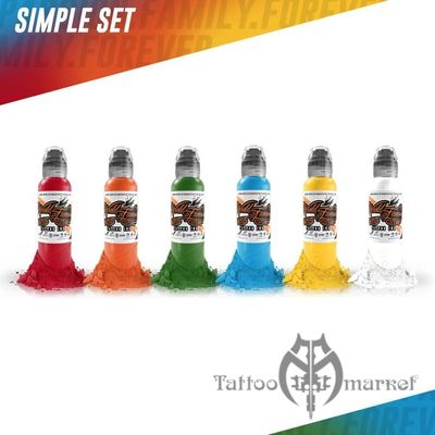 World Famous Colors Simple Set - 7шт