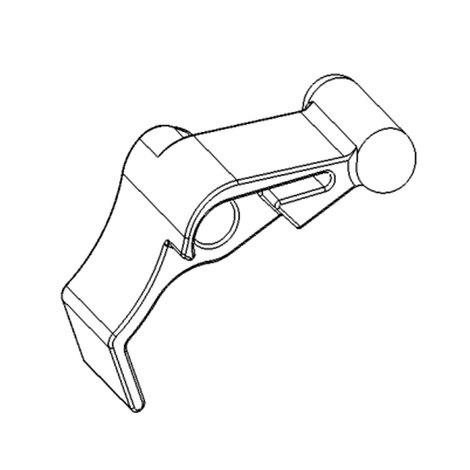 Зап. части DragonFly - Stingray No. 62 - Release lever