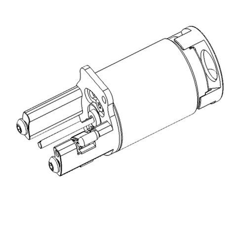 Зап. части DragonFly - Stingray No. 70 - Motor assembly Stingray (standard)