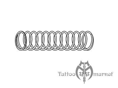 No. 78 - Inner piston spring Stingray STD (2261)