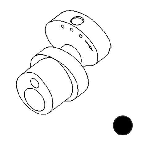 Запчасти DragonFly - Stingray No. 80 - Cam 3.5mm stroke Standard (Black)
