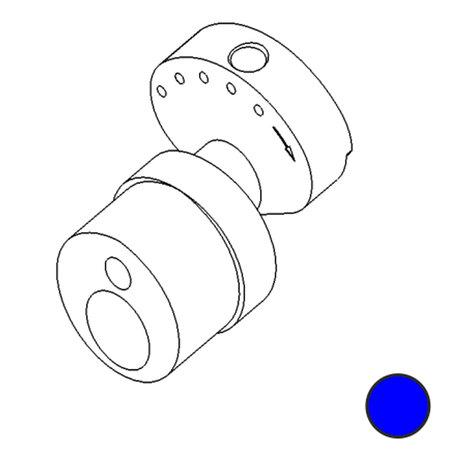 Зап. части DragonFly - Stingray No. 81 - Cam 3.5mm stroke Smooth (Blue)