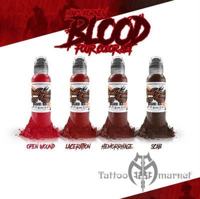 MAKS KORNEV'S BLOOD COLOR SET - 4шт