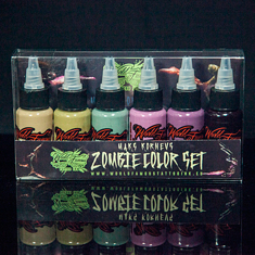 MAKS KORNEV'S ZOMBIE COLOR SET - 6шт