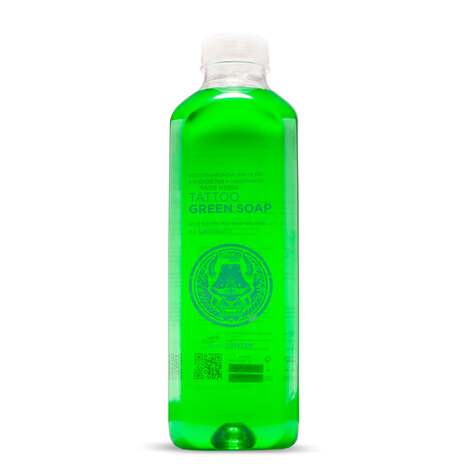 Средства ухода за татуировкой Aloe Green Soap with Alantoin - 1000мл