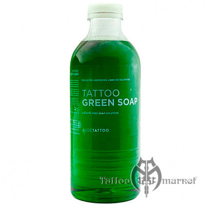 Aloe Green Soap with Alantoin - 1000мл