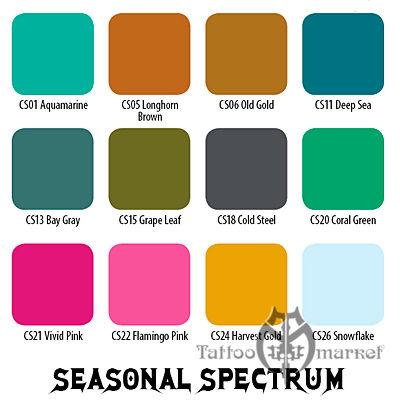 Seasonal Spectrum 12