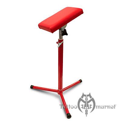 Мебель для тату салона Tripod Red Arm Rest by Kwadron