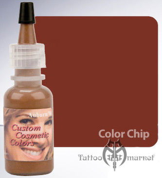Auburn - красновато-коричневый