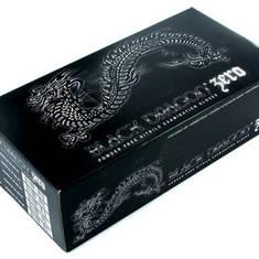 Перчатки нитриловые, черные Black Dragon Zero