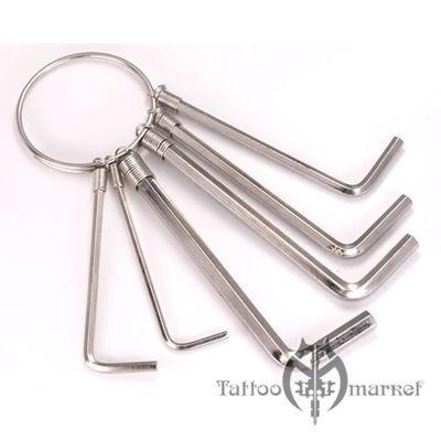 Ключи под шестигранники Набор из 6 ключей